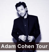 Adam Cohen Tour 2011
