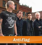 Anti-Flag Tour 2013 Konzerte