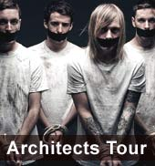 Architects Tour 2012 Metalcore Konzerte