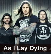 As I Lay Dying Tickets 2012