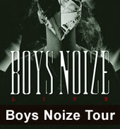 Boys Noize Tour 2012
