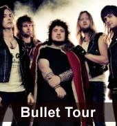 Bullet Tour 2012: Sieben Konzerte
