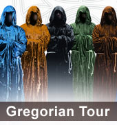 Gregorian Tour 2013