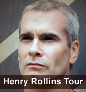Henry Rollins Tour 2012