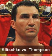 Klitschko vs. Thompson VIP Tickets 2012