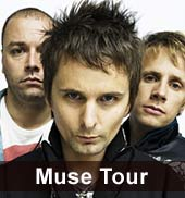 Muse Konzerte in Berlin und Mnchen 2012