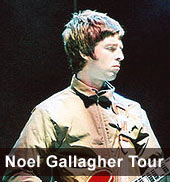 Noel Gallagher Tour 2012