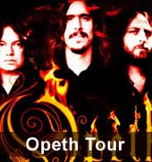 Opeth Tour 2012 Tickets