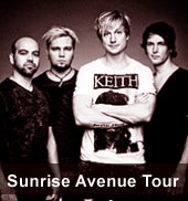 Sunrise Avenue Tour 2012