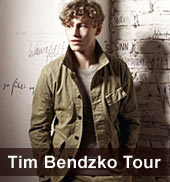 Tim Bendzko Tour 2012